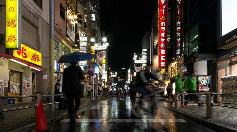 ville pluie
