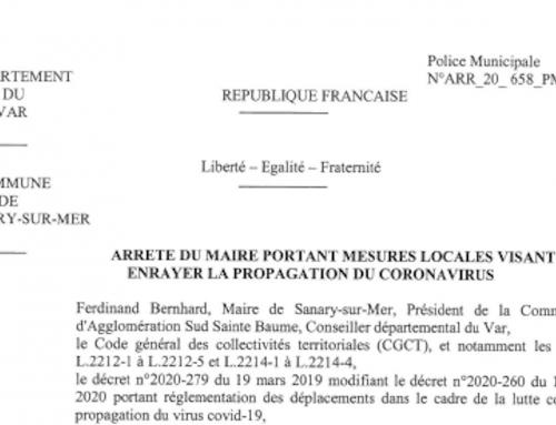 Covid-19 | L'arrêté des «dix mètres» du maire de Sanary-sur-Mer est-il illégal?